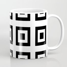 Tribute to mondrian 6- piet,geomtric,geomtrical,abstraction,de  stijl, composition. Coffee Mug