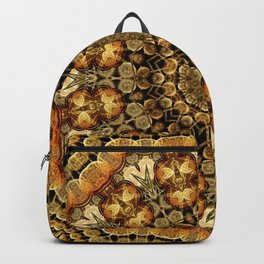 Desert Temple Mandala Backpack