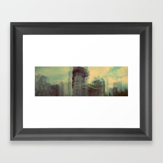 Montreal Framed Art Print