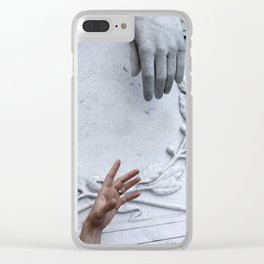 Cemetary5 Clear iPhone Case