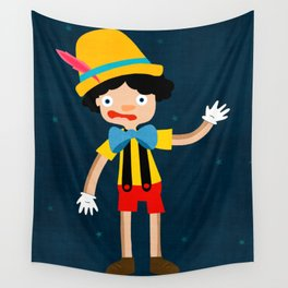 Pinocchio Wall Tapestry