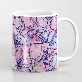 Over and Over Flowers 2 Coffee Mug