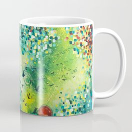 Dimensions of Flow Coffee Mug