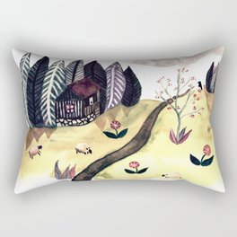 Summer in the Mountains Rectangular Pillow