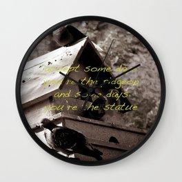 The Pidgeon Wall Clock