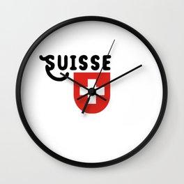 Confédération suisse Wall Clock