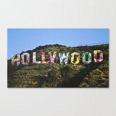 hollyhood Canvas Print