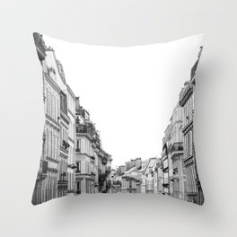 Street in Paris Throw Pillow