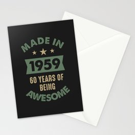 Made In 1959 Stationery Cards