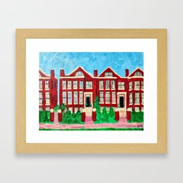 Sweet Home Chicago Framed Art Print