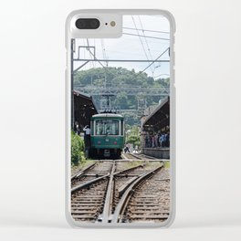 Kamakura Enoden Clear iPhone Case