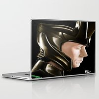 loki Laptop & iPad Skins featuring Loki by Satanoncrack