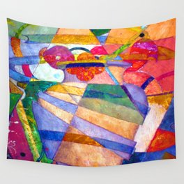 Ivan Kliun Abstract Landscape Wall Tapestry
