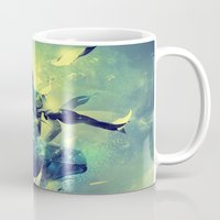 soul Mugs featuring Soul by Pete Harrison