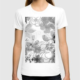 Rosie Outlook - grayscale T-shirt