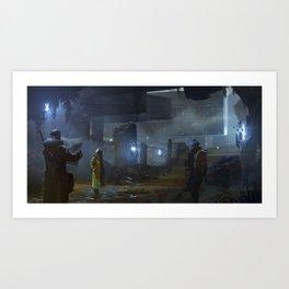 Ruin Hunters Art Print