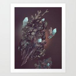 space stone Art Print
