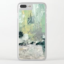Summer Afternoon #summer #abstract Clear iPhone Case