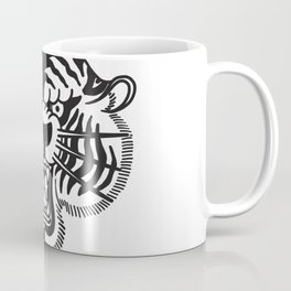 Half Tiger Half Panther Coffee Mug