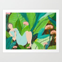 Lady of the Rainforest Art Print