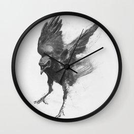 Common Crow [2] Wall Clock
