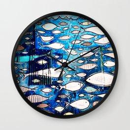 Lundi AM Wall Clock