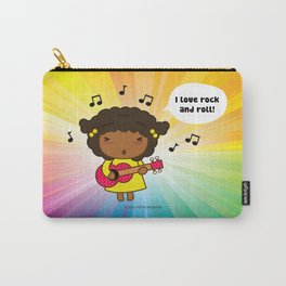 I love Rock N' Roll Carry-All Pouch