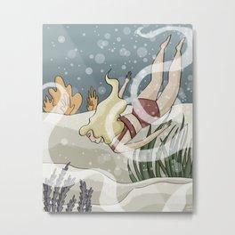 Bottom of the Sea II Metal Print