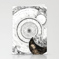 astrology Stationery Cards featuring astrology lapse by Carolina Arévalo