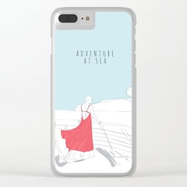 Glamorous Adventure At Sea Clear iPhone Case