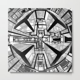 Mathroom sci-fi artwork Metal Print