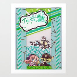 Multi-Function Card Design Art Print