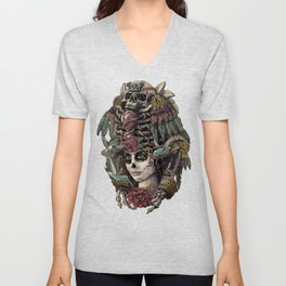 Day of the Dead (Ancient Guardians) Unisex V-Neck