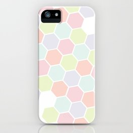 Pastel Buzz iPhone Case