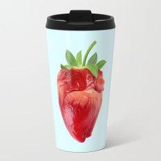 STRABERRY HEART Travel Mug