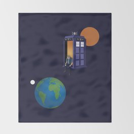 A WhoView Throw Blanket