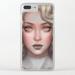 Capricorn - The Star Sign Clear iPhone Case