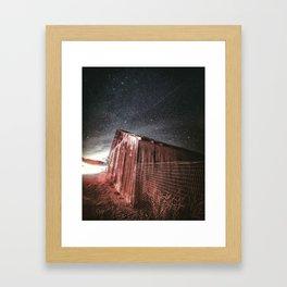 Old Barn on Hwy 25 Framed Art Print