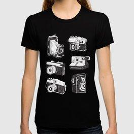 Mix Retro Cameras T-shirt