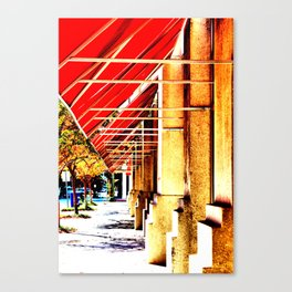 Canopy Walk Canvas Print