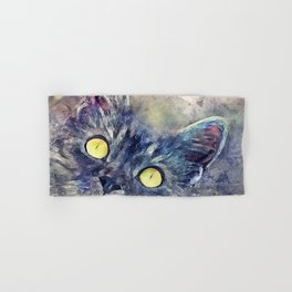 Kitty Hand & Bath Towel