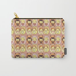 quirky seasons pattern Carry-All Pouch
