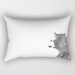 graphic bear II Rectangular Pillow