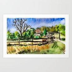 Farm Quickie #1 Art Print
