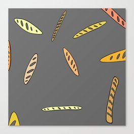 Baguette, anyone? Canvas Print