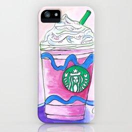 Unicorn drink iPhone Case