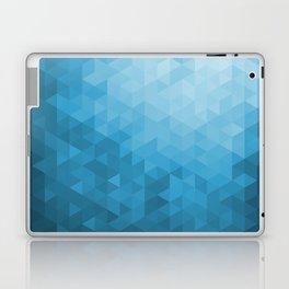 Blue Abstract Highlight Design Laptop & iPad Skin