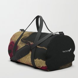 Black Honey - resin abstract painting Duffle Bag