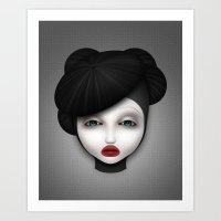 Misfit - McQueen Art Print