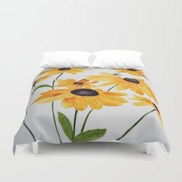Watercolour Sunshine Duvet Cover